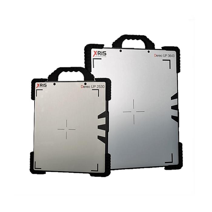 XRIS digital flat panel X-ray detectors for NDT