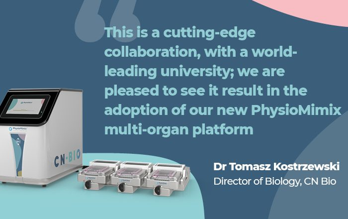 CN Bio's PhysioMimix™ Adopted by King's College London to Investigate Chronic Liver Disease