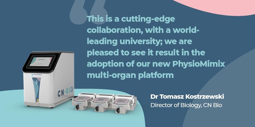 CN Bio and Kings College London investigate chronic liver cancer using CN Bio's PhysioMimix multi-organ platform