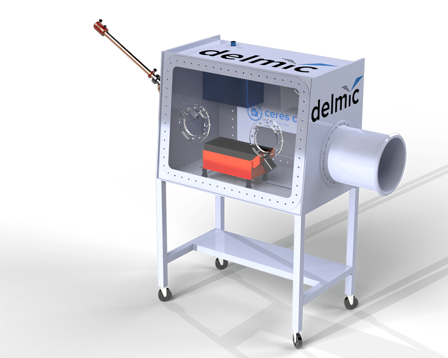 Delmici CERES Clean station for minimising ice contaminationin your cryo-EM workflow