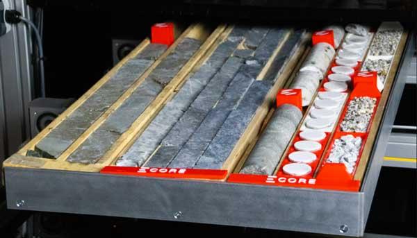 Elemission ECORE sample types