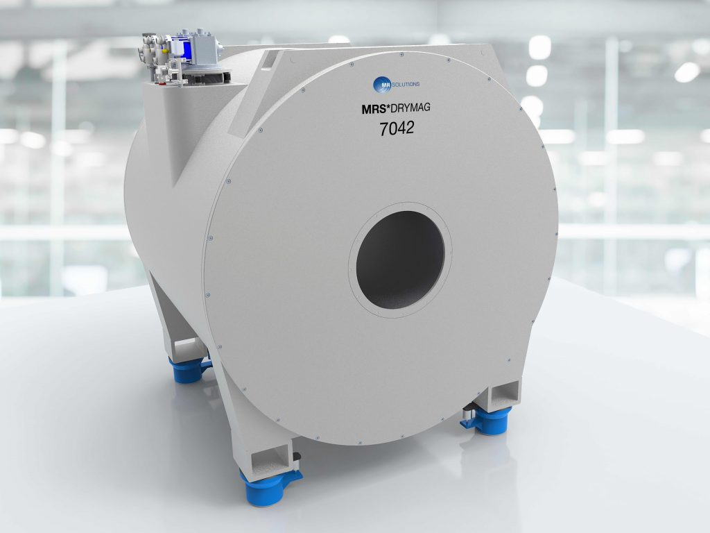 MR Solutions 7T MRI ustilising dry magnet technology and featuring class-leading 42cm bore