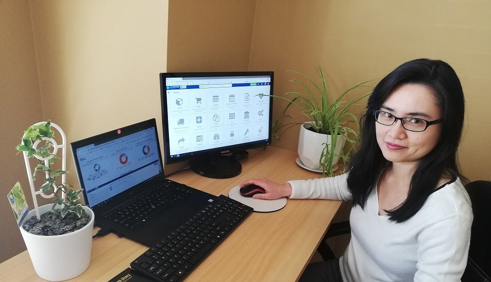 Maggie Ling, Data Systems Manager at the Victoria Cancer Biobank working with OpenSpecimen.