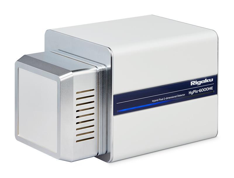 Rigaku HyPix 6000HE HPC detector ideal for high flux XRD studies