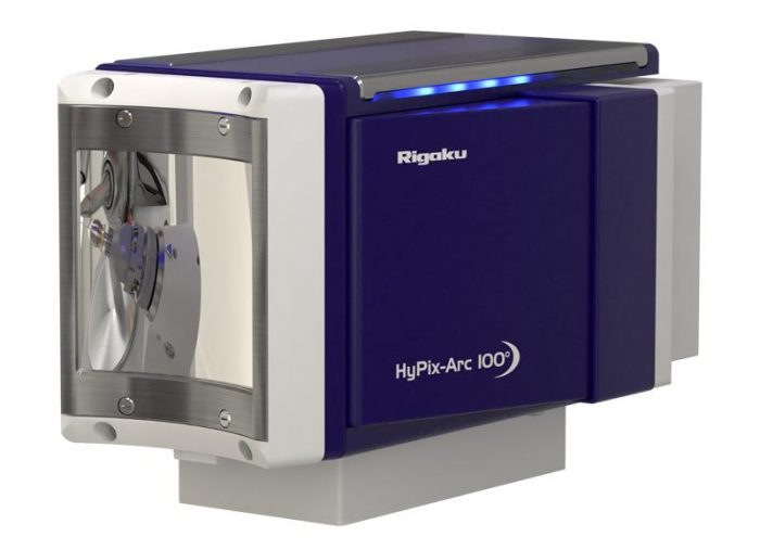 Rigaku Launches New Curved Single Crystal X-Ray Diffraction Detector with Small Form Factor