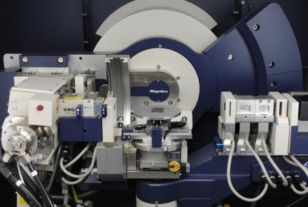 Rigaku 9kW Smartlab x-ray diffraction system with mapping stage