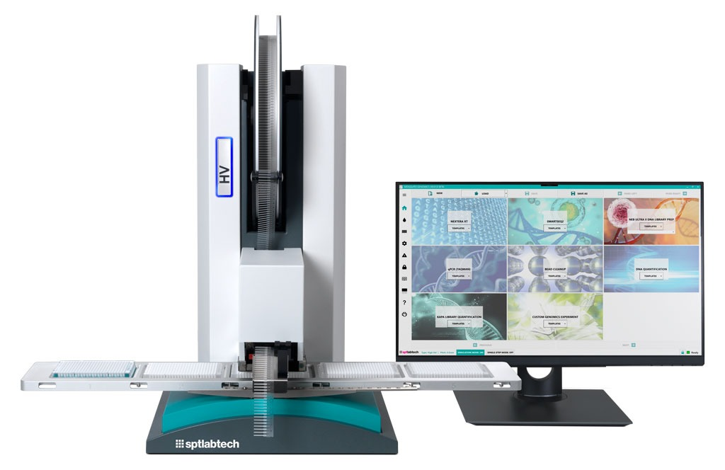 The mosquito HV Genomics with new touchscreen user interface - Liquid handling for genomics solution