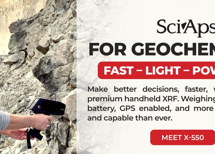 The SciAps X-550 pXRF for Exploration Geology