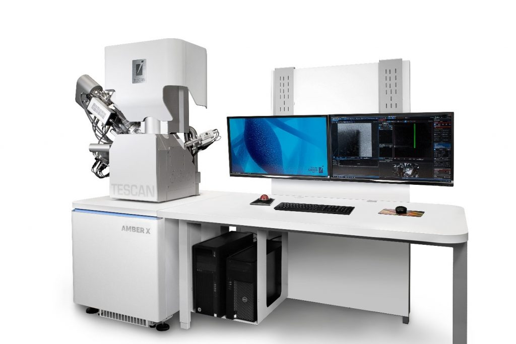 TESCAN AMBER X - A unique combination of Plasma FIB and field-free UHR FE-SEM for the widest range of multiscale materials characterization applications
