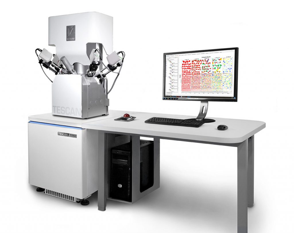Generation 4 TESCAN TIMA automated mineralogy system