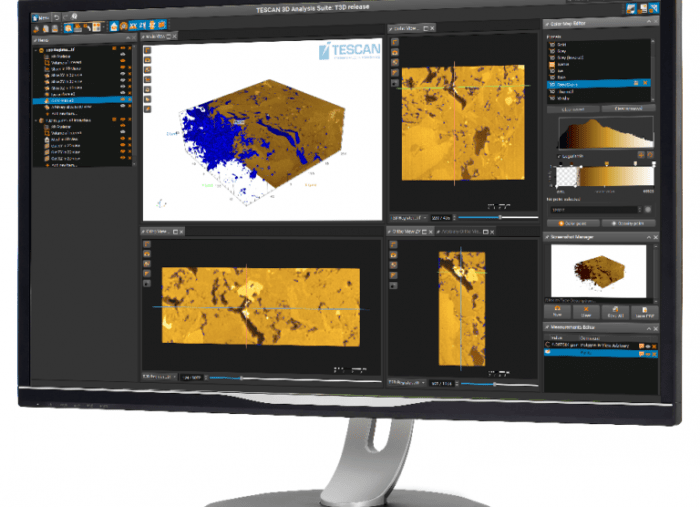 TESCAN FIB-SEM Software Upgrade Brings New Options for Advanced 3D Data Acquisition and Visualisation
