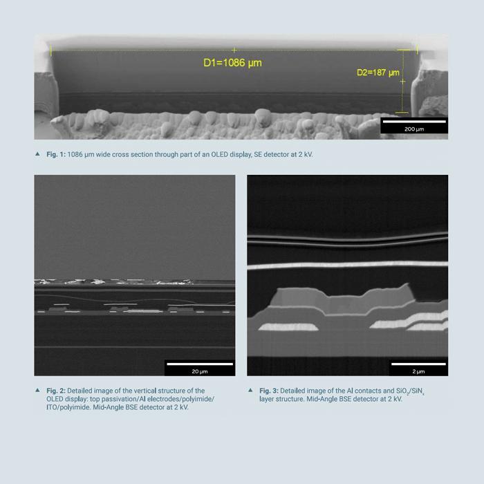 TESCAN - Analysis of Flexible OLEDs
