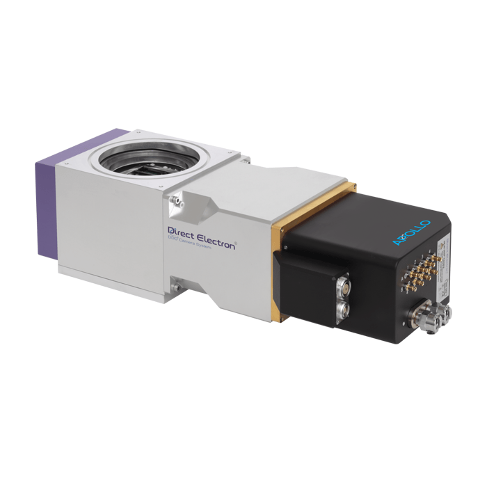 Apollo - direct detection TEM camera for Cryo-EM