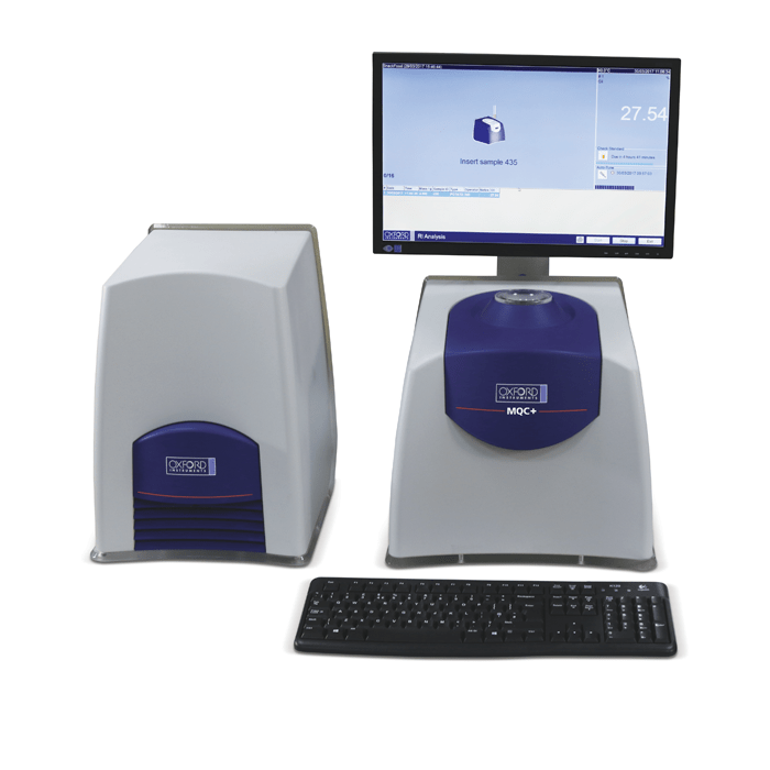 Oxford Instruments MQC+ Benchtop NMR for QA & QC applications