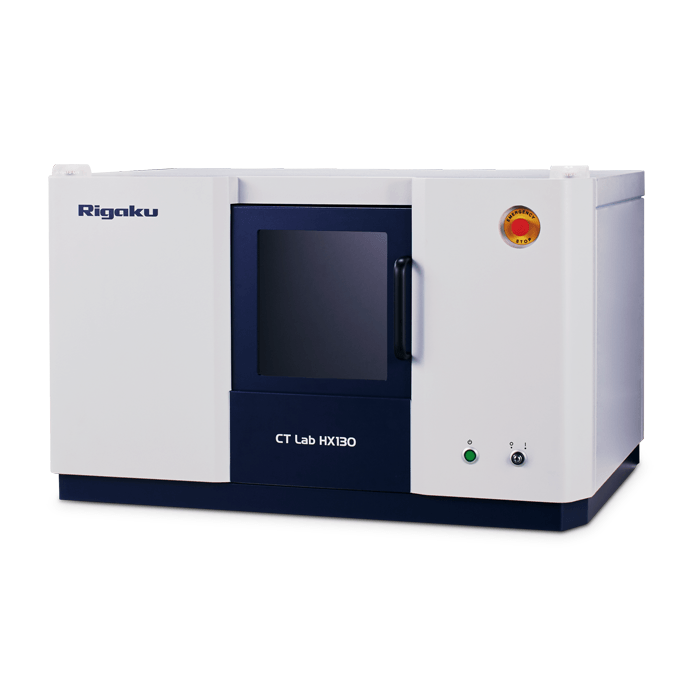 Rigaku HX series benchtop CT - computed tompgraphy for geological applications
