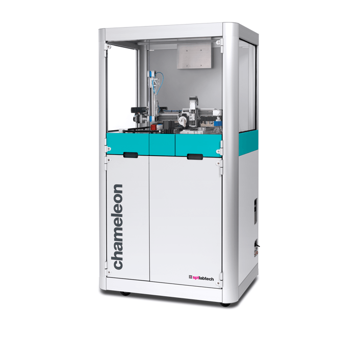 spt labtech chameleon - next generation cryo-em sample preparation