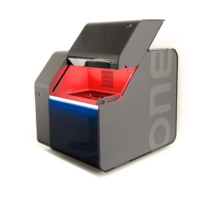 UpNano NanoOne high speed3d printer with sub micrometer resolution